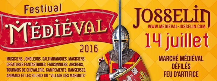 Josselin (56). Retour de la fête médiévale les 13 et 14 juillet 2016