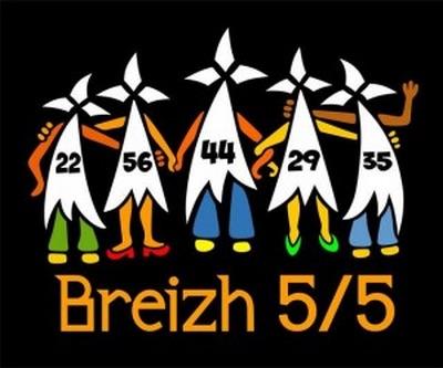 Bretagne. Quimper et Plounévez-Moëdec, deux nouvelles communes « Breizh 5/5 » pour la réunification