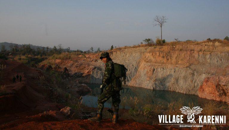 Village Karenni « rien à demander, rien à céder »
