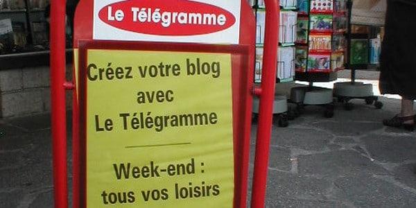 Les ventes du Télégramme commencent à fléchir