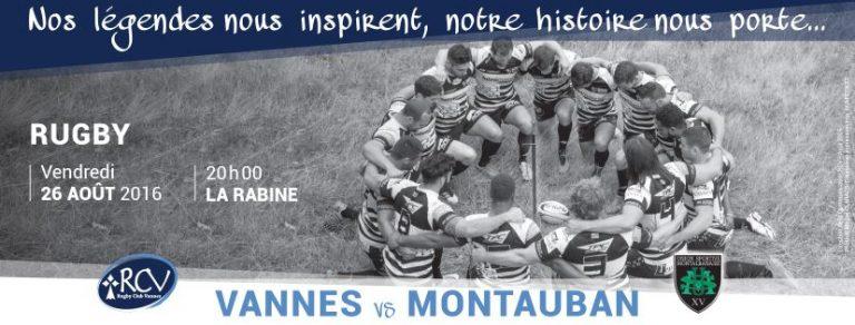 Rugby. RC Vannes a rendez-vous avec l'histoire face à Montauban
