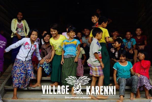 Village Karenni. Une association se bat pour le développement en Birmanie