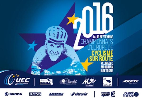 Plumelec va accueillir les championnats d'Europe de cyclisme, du 14 au 18 septembre