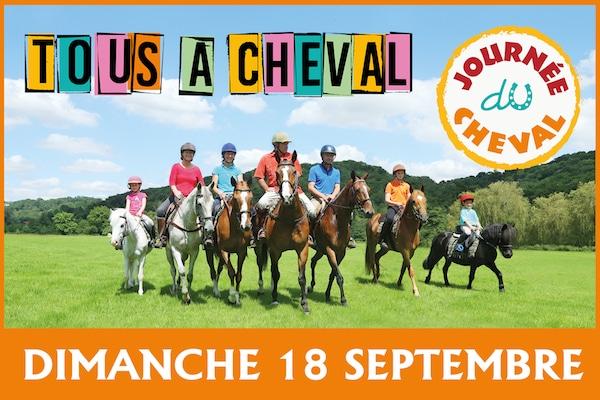 Equitation en Bretagne. La journée du cheval aura lieu le 18 septembre