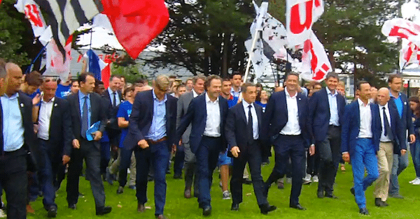 La Baule. Le phénomène Sarkozy au Campus d'Été des Républicains