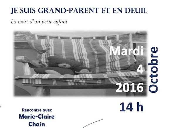 Rennes. Conférence sur le deuil des grands-parents face à la mort du petit-enfant