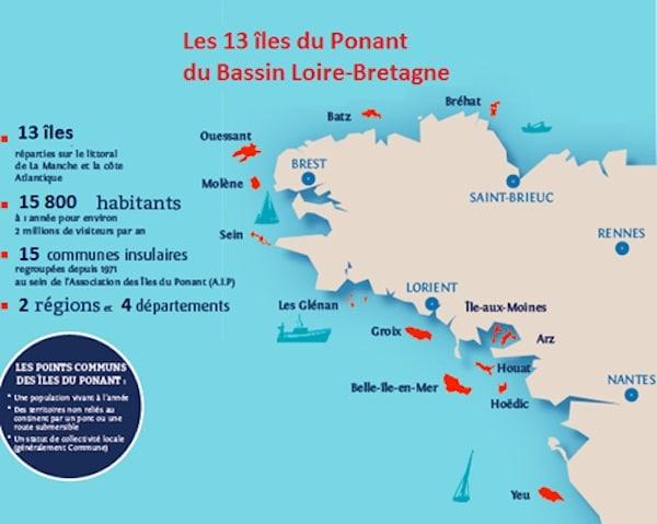 Un partenariat pour préserver les ressources en eau des îles du Ponant.