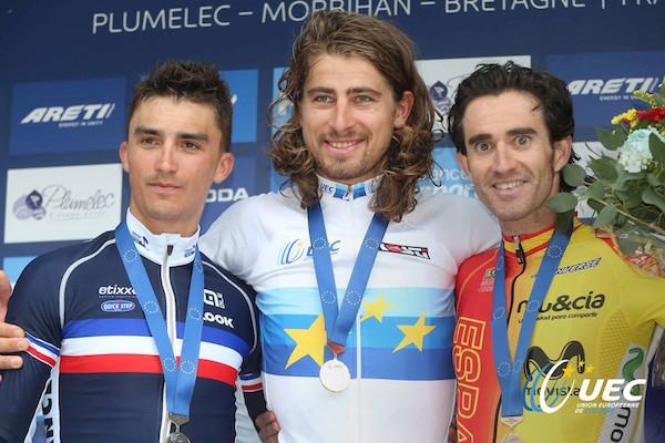 Cyclisme à Plumelec (56). Peter Sagan, Van der Breggen, Lipper, Riabushenko Malle : champions d'Europe !