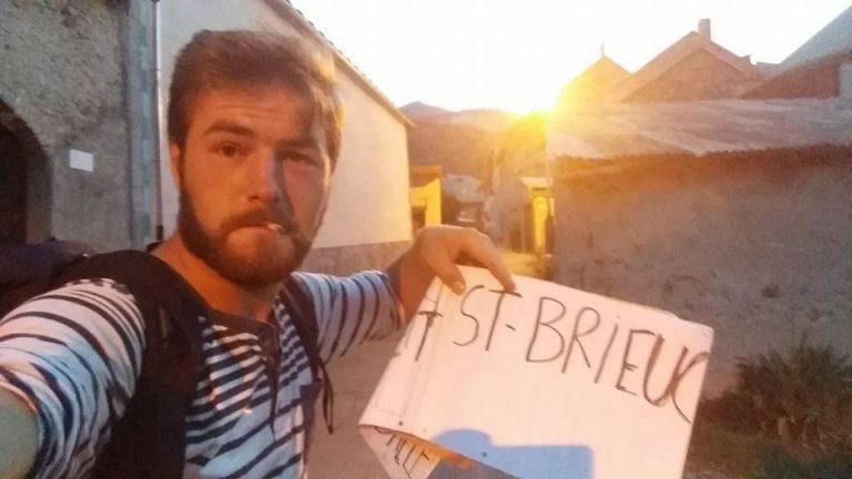 Saint-Malo. Insolite. Il a réalisé le tour de France en douze jours sans argent ni tente
