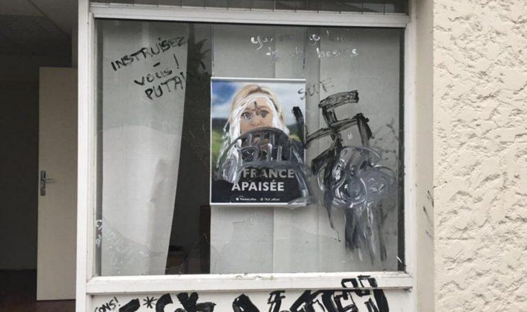 Vannes. La permanence du Front national vandalisée