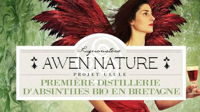 Chevaigné. Awen Nature, première distillerie d'absinthes bio en Bretagne.