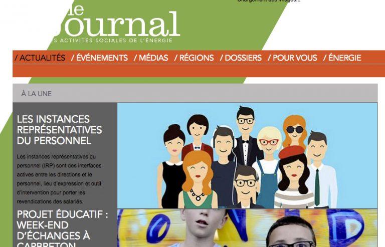 CCAS d'EDF : Un journal institutionnel marqué politiquement