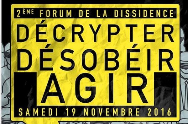Paris. Deuxième forum de la dissidence organisé par la fondation Polémia