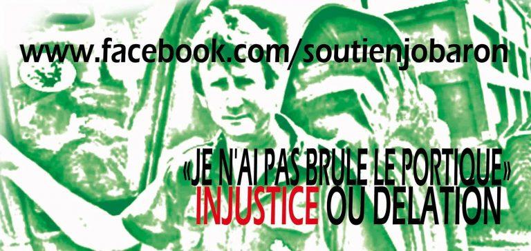Portique écotaxe. Les Bonnets rouges soutiendront Jo Baron, le 19 octobre, à Rennes