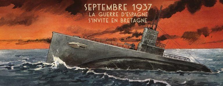 Nuit noire sur Brest, bande dessinée de Kris et Cuvillier.