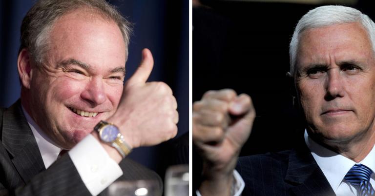 Mike Pence vs Tim Kaine : Le débat pour la vice-présidence des Etats-Unis