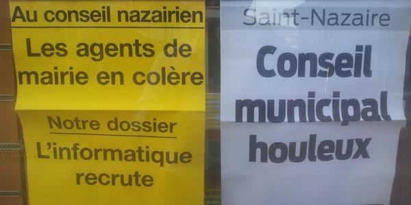 Saint–Nazaire : quand des syndicalistes applaudissent … les élus  FN !