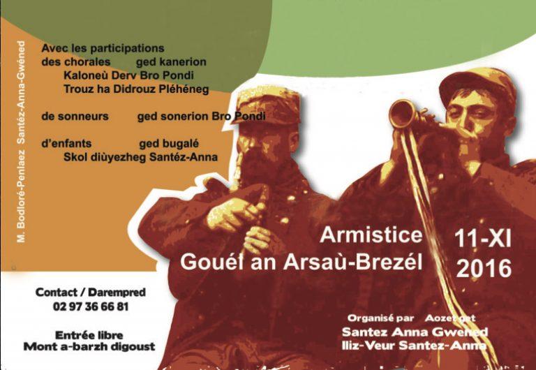 Saint-Anne d'Auray. Un 11 novembre en breton à ne pas manquer !