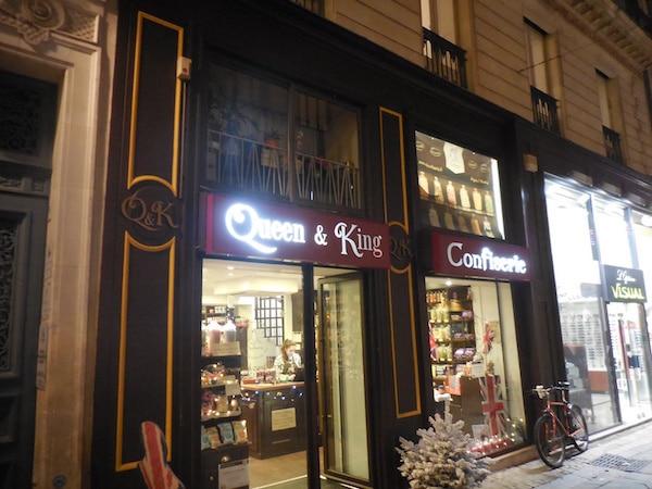 QK confiserie: la douceur anglaise dans le centre-ville de Nantes