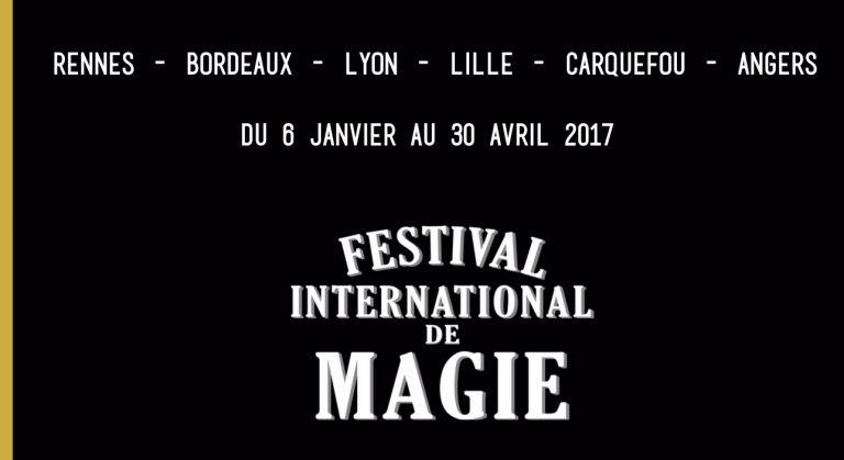 Rennes. Le festival international de magie aura lieu du 6 au 15 janvier 2017
