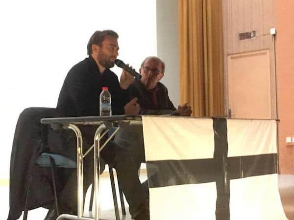 Succès pour les conférences de Laurent Obertone à Nantes et Quimper