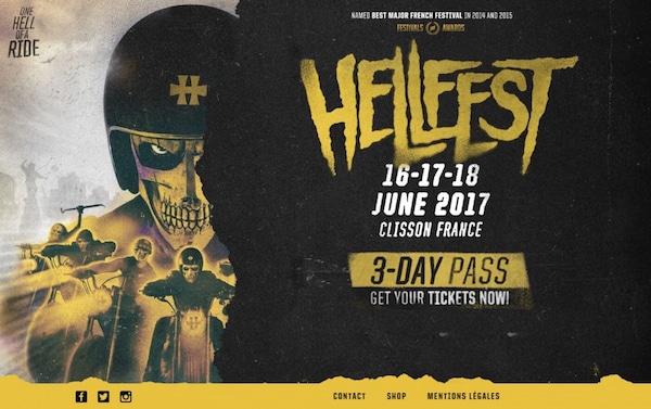 Hellfest 2017. Deep Purple, Aerosmith, Slayer…et tous les autres !