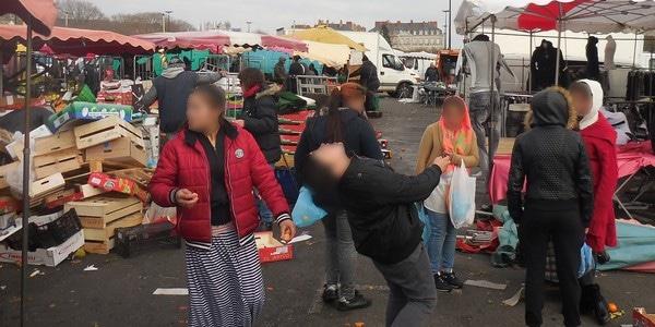 Nantes. Vols, insécurité : le ras-le-bol des commerçants du marché de la Petite Hollande