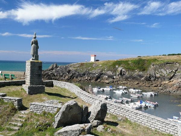 Melgven (29). Le tour de Bretagne à pied raconté par Claude Derollepot