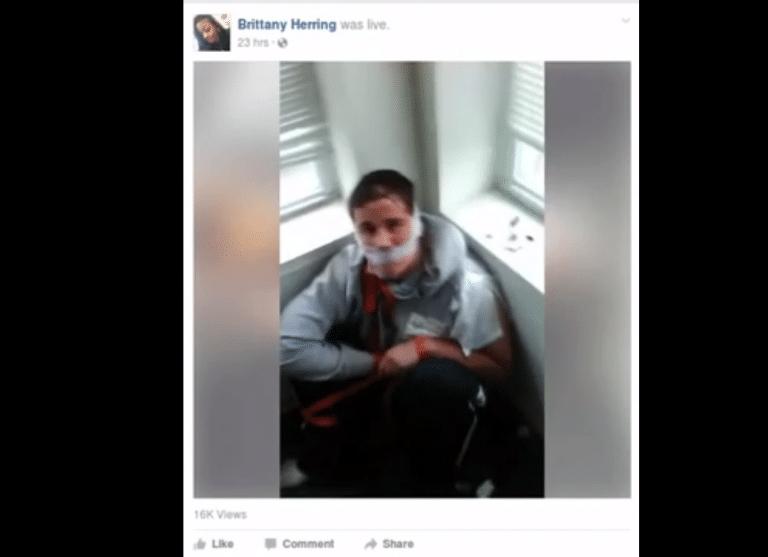 Chicago. Des afro-américains torturent un handicapé mental blanc [Crime raciste ?]