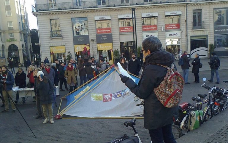 Nantes. Des citoyens ont manifesté contre le CETA
