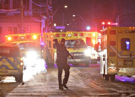 [MAJ] Fusillade dans une mosquée au Québec. Plus qu'un seul suspect : Alexandre Bissonnette