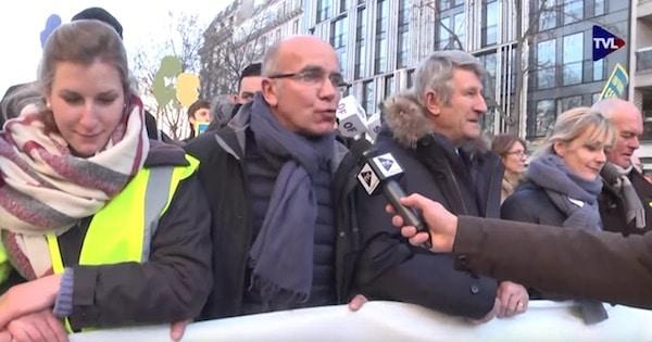 Paris : Importante mobilisation à la marche pour la vie