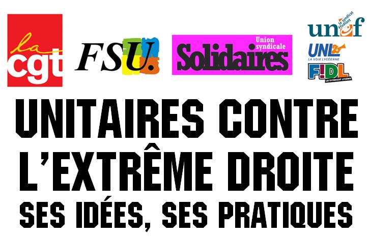 Fougères. Des syndicats subventionnés s'engagent contre l'extrême droite
