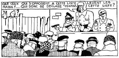 Endroit pour complimenter K Tintin-soviets