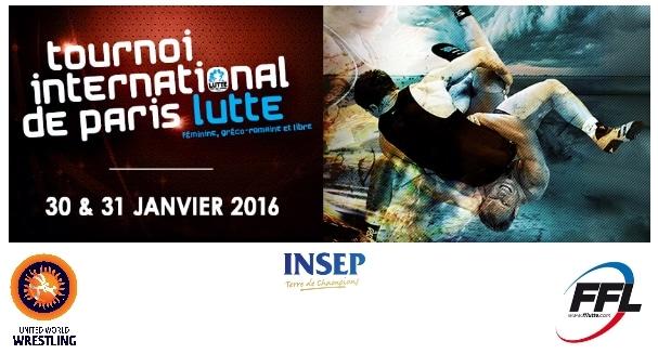 Lutte. Tournoi international de Paris les 28 et 29 janvier 2016