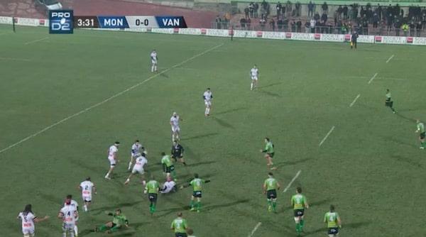 Montauban a pris sa revanche sur le RC Vannes