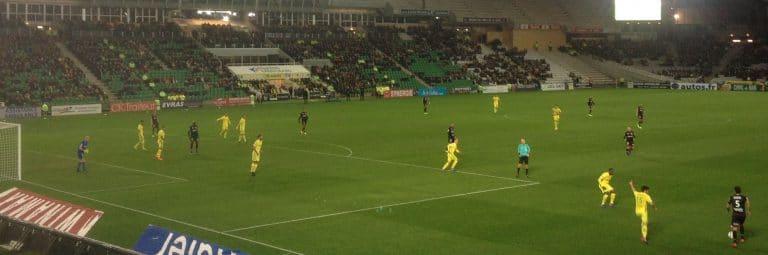 Le FC Nantes s'impose à la Beaujoire contre Dijon