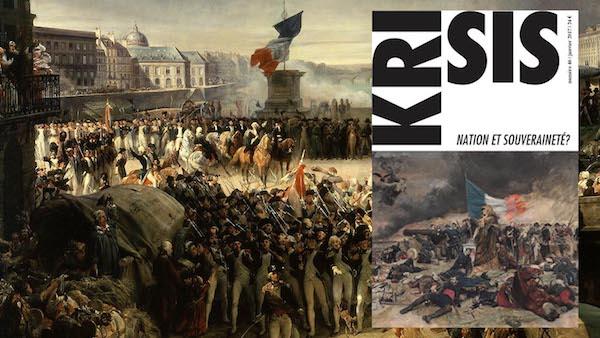 Sortie du n°46 de Krisis : nation et souveraineté