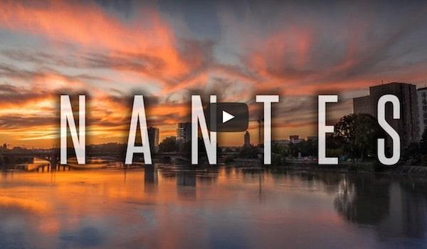 Nantes comme vous ne l'avez jamais vue : la vidéo qui buzz [Vidéo]
