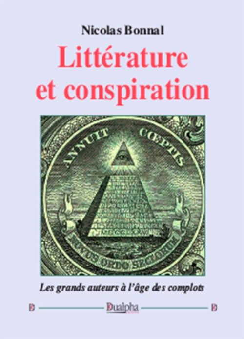 Couv Litterature et conspiration