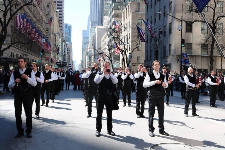 Lorient s'est invité à New York pour la Saint-Patrick