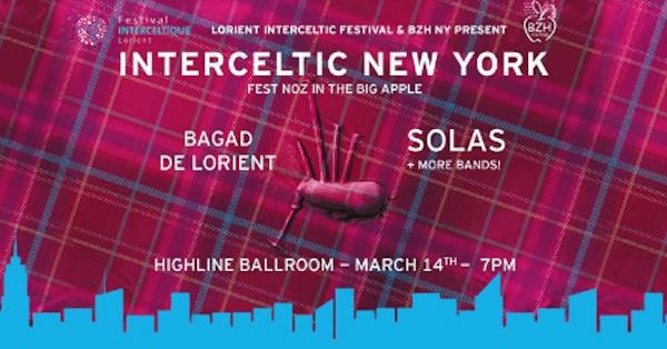Musique. Un fest-noz à New York le 14 mars prochain