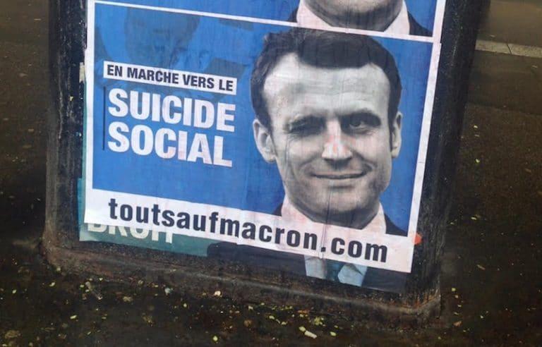 « Tout sauf Macron » : une association pour faire barrage au candidat d'En marche