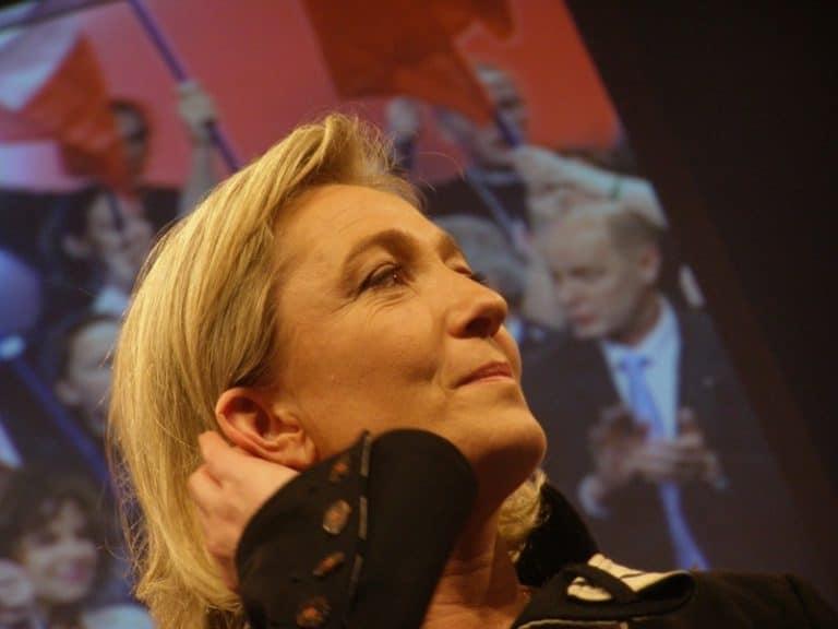 Marine Le Pen dans le Morbihan le 30 mars