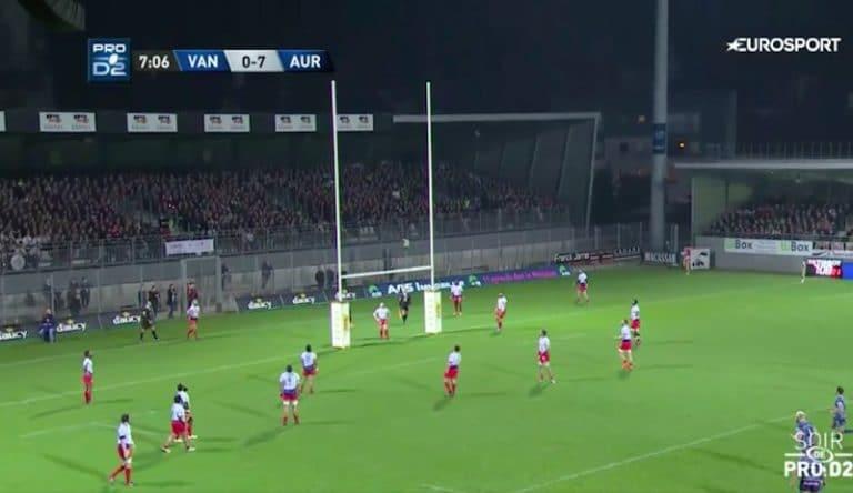 Rugby. Le RC Vannes se défait d'Aurillac et garde espoir