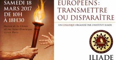 Colloque Iliade 2017 Education Transmission