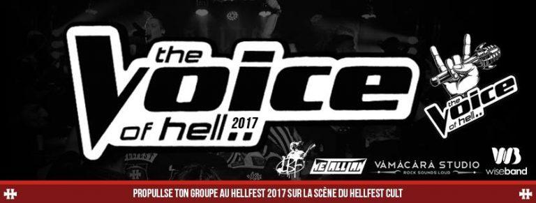Hellfest. Lancement de la deuxième édition du tremplin musical : The Voice Of Hell