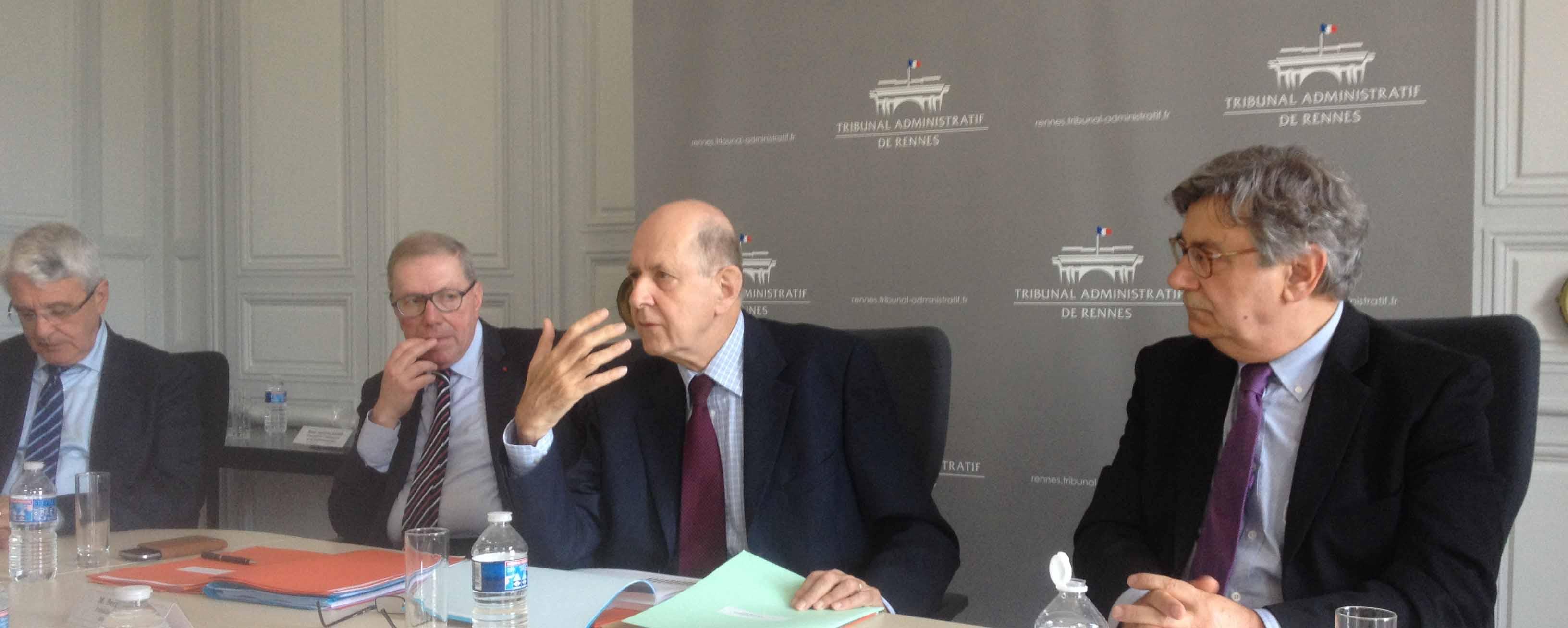 Tribunal administratif Rennes Jean-Marc Sauvé