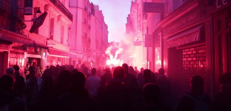 Nantes. Incidents après le premier tour [Vidéo]