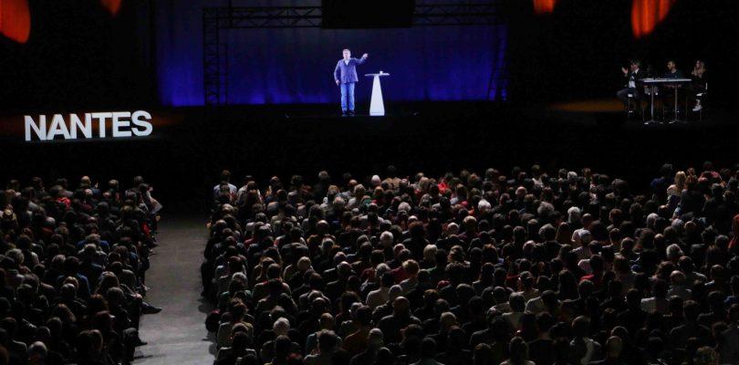 Melenchon Nantes Zenith Hologramme